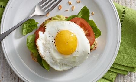 Protein in an egg